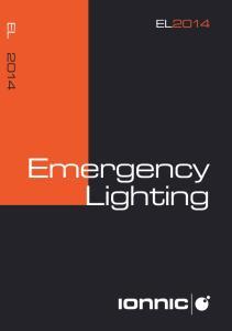 EL2014. Emergency Lighting