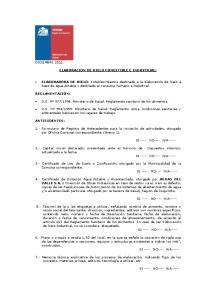 ELABORACION DE HIELO COMESTIBLE E INDUSTRIAL: