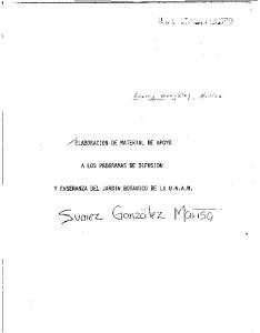 ELABORACION DE MATERIAL DE APOYO