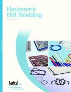 Elastomeric EMI Shielding