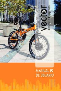 Electric Bicycles. Electric Bicycles MANUAL DE USUARIO MANUAL DE USUARIO