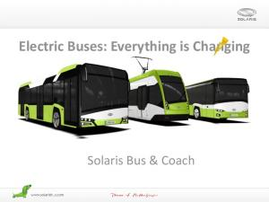 Electric Buses: Everything is Changing
