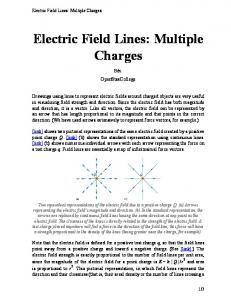 Electric Field Lines: Multiple
