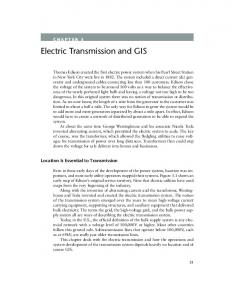 Electric Transmission and GIS