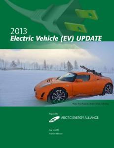 Electric Vehicle (EV) UPDATE