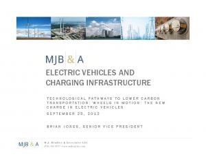 ELECTRIC VEHICLES AND CHARGING INFRASTRUCTURE