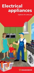Electrical appliances. Appliance fire safety tips