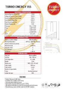 ELECTRICAL SPECIFICATION MECHANICAL DATA WORKING DATA FEATURES
