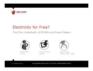 Electricity for Free?