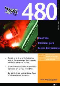 Electrodo Universal para Aceros Herramienta