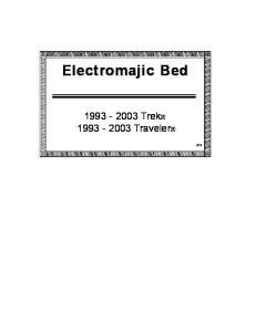 Electromajic Bed Trek Traveler