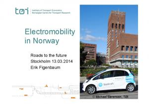 Electromobility in Norway