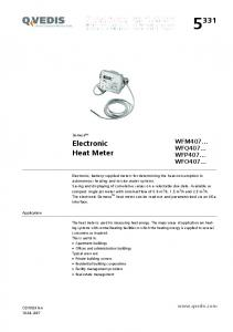Electronic Heat Meter