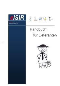 electronic Initial Sample Inspection Report V6.x Handbuch für Lieferanten