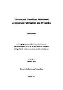 Electrospun Nanofiber Reinforced Composites: Fabrication and Properties
