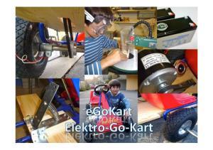 Elektro- Go- Kart Meine Geschichte