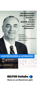 ELEKTROTECHNIK & AUTOMATION