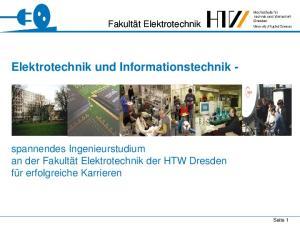 Elektrotechnik und Informationstechnik -