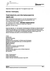 Elektrotechnik und Informationstechnik (BBPO-BE)