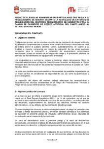 ELEMENTOS DEL CONTRATO. 1.- Objeto del contrato