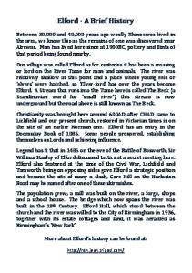 Elford - A Brief History