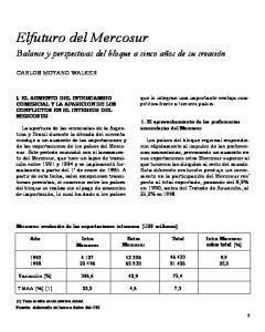 Elfuturo del Mercosur
