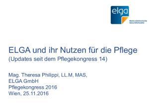 ELGA und ihr Nutzen für die Pflege
