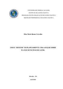 Elisa Maria Ramos Carvalho