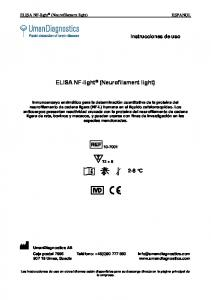 ELISA NF-light (Neurofilament light)