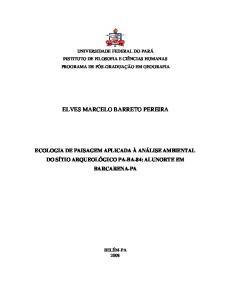 ELVES MARCELO BARRETO PEREIRA