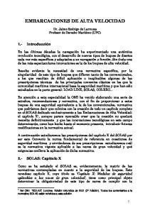 EMBARCACIONES DE ALTA VELOCIDAD