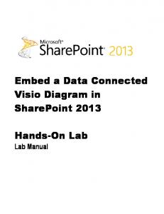 Embed a Data Connected Visio Diagram in SharePoint 2013