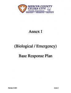Emergency) Base Response Plan