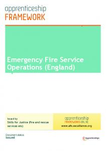 Emergency Fire Service Operations (England)