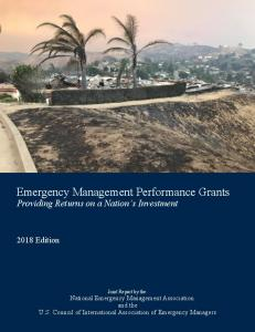 Emergency Management Performance Grants