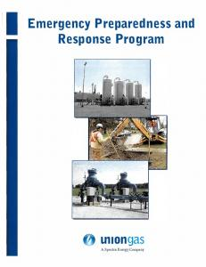 Emergency Preparedness and Response Program u,1ongas
