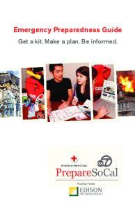 Emergency Preparedness Guide