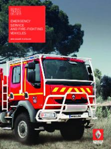 EMERGENCY SERVICE AND FIRE-FIGHTING VEHICLES