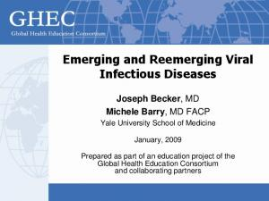 Emerging and Reemerging Viral Infectious Diseases