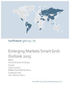 Emerging Markets Smart Grid: Outlook 2015