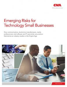 Emerging Risks for Technology Small Businesses