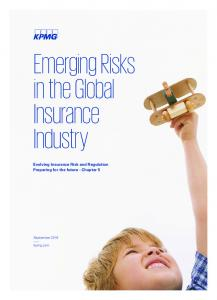 Emerging Risks in the Global Insurance Industry