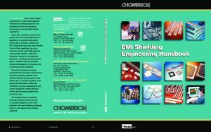 EMI Shielding Engineering Handbook. EMI Shielding Engineering Handbook