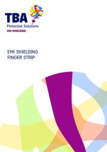 EMI SHIELDING FINGER STRIP