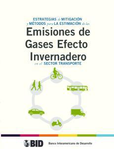 Emisiones de Gases Efecto Invernadero