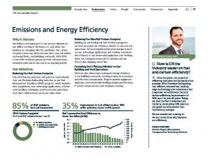 Emissions and Energy Efficiency