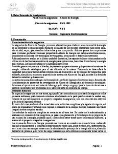 EMJ-1002 SATCA 1 : Carrera: