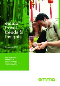emma travel trends & insights