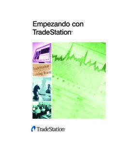 Empezando con TradeStation
