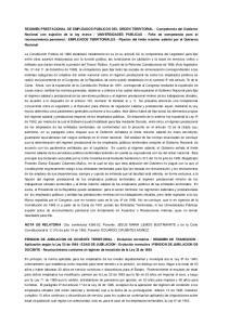 EMPLEADOS TERRITORIALES